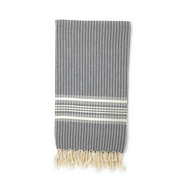 Classic Pestemal Fouta 100% Cotton Beach Towel by Highland Dunes
